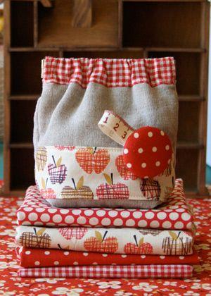 Cute little lunch bags.