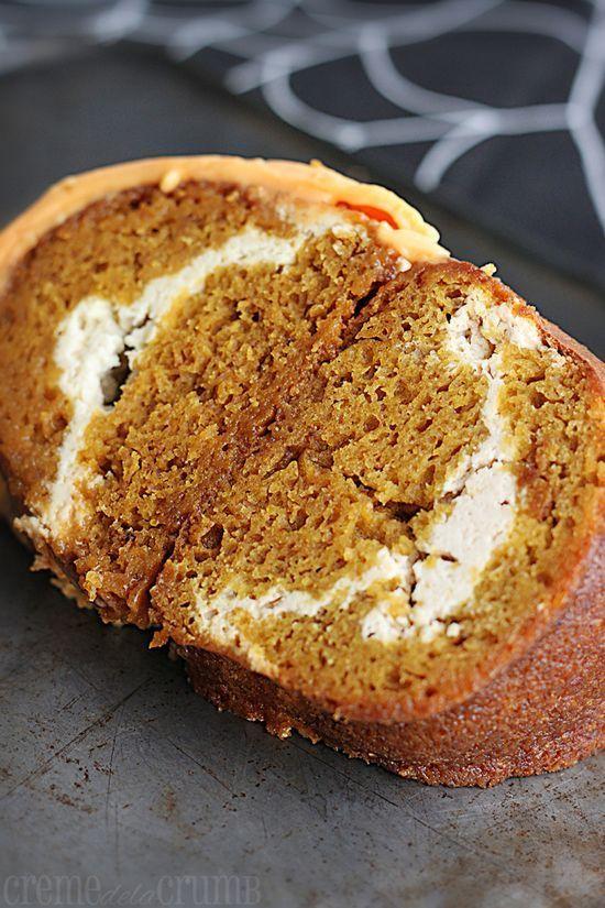 Pumpkin Cream Cheese Bundt #better health naturally #organic #health guide #better health solutions #health food #better health naturally #organic health