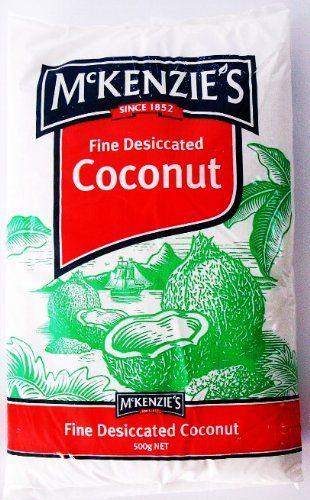 McKenzie's Fine Dessicated Coconut 250g « Lolly Mahoney