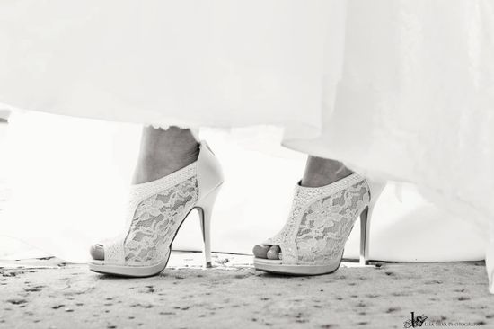 My #shoes #wedding Lisa Silva Photography