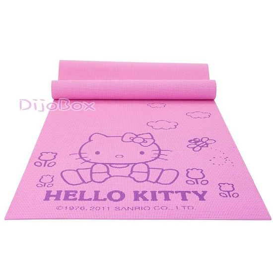 Hello Kitty Yoga Workout Exercise Fitness Mat