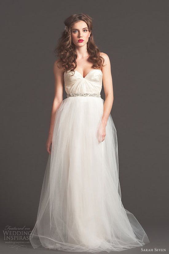 sarah seven wedding dresses fall 2013 bridal please thank you gown