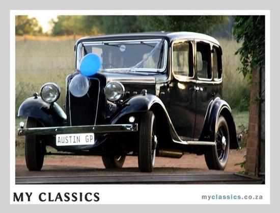 1936 Austin ascot classic car