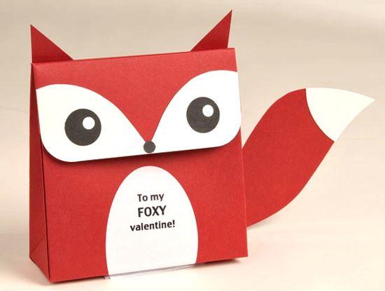 Foxy favor box