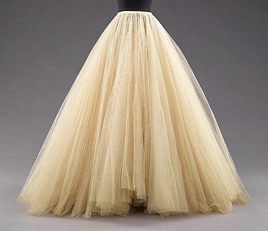Vintage tulle skirt.