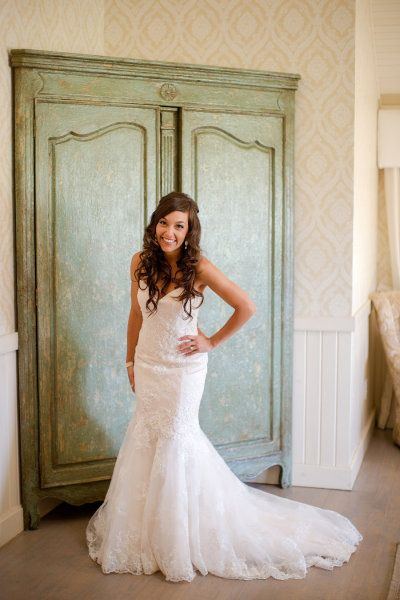 #Bride #lace #gown #wedding  Photography by katelynjames.com, Dress by www.cbcouturebrid...  Read more - www.stylemepretty...