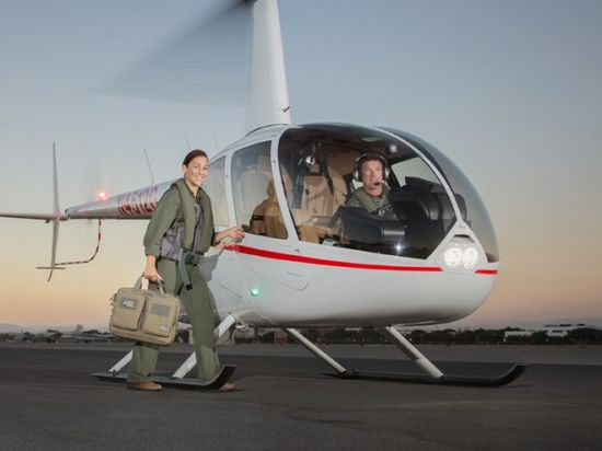 Photo Shoot with Robinson Helicopters