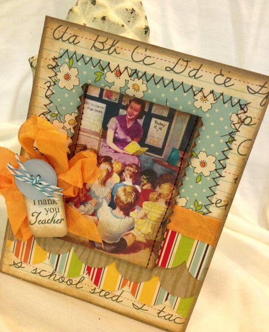 cute greeting cards teacher thank you card handmade thank