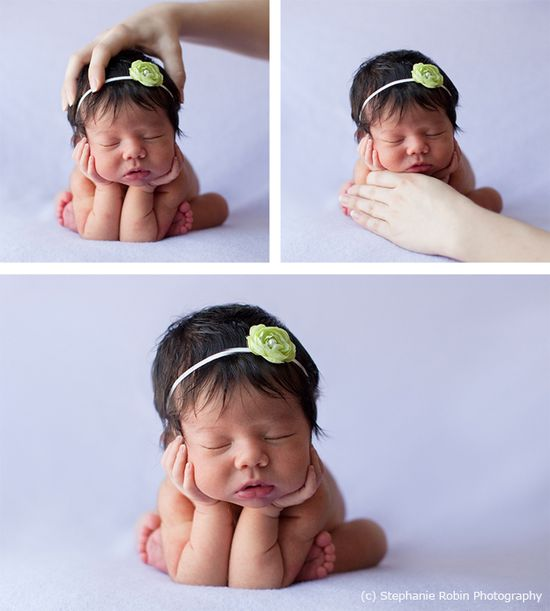 Tricks of newborn photography