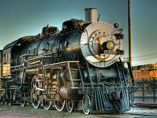 Temple, TX Railroad & Heritage Museum      A.T. & S.F - Santa Fe 3423 Locomotive