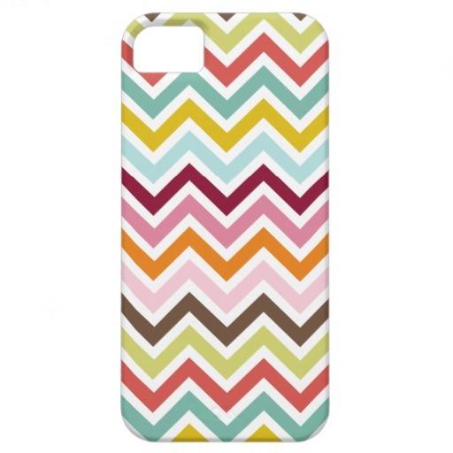 Chevron Zigzag Stripes iPhone 5 Case
