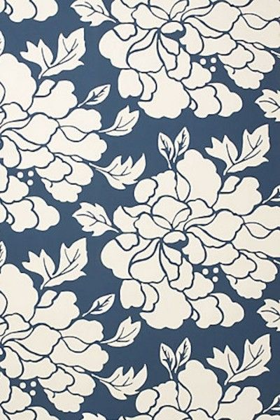 Blue White iPhone Wallpaper