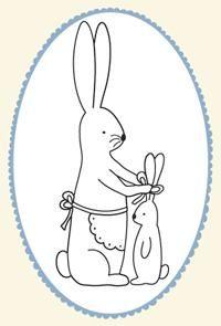 Sweet bunny pattern from Joan · Needlework News   CraftGossip.com