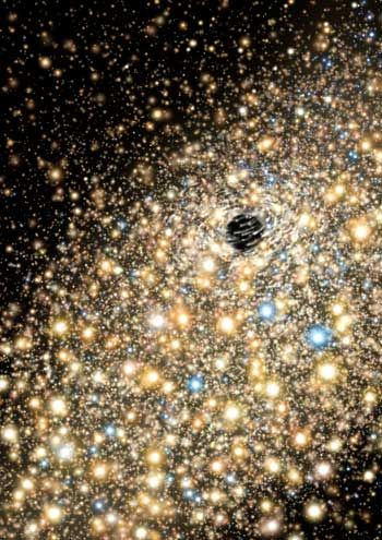 Record massive black holes discovered lurking in monster galaxies.