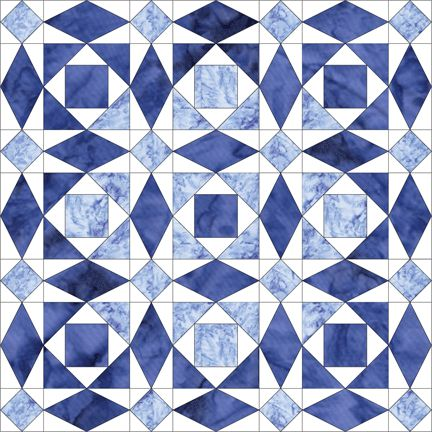 Storm At Sea > lots of layout ideas...I am kind of in love with this quilt pattern!  Putting it on my quilt bucket list.