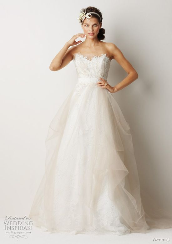 Watters Fall 2011 collection wedding dress