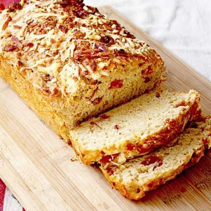 Bacon Gruyere Beer Bread
