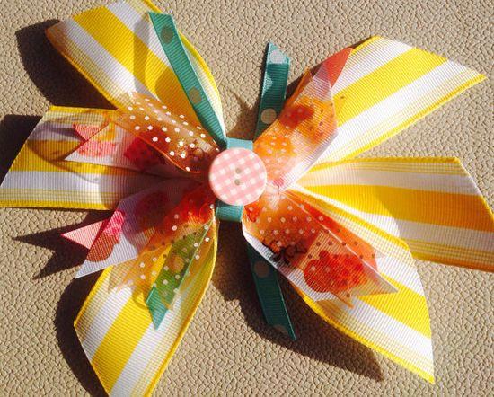 Large handmade bow on Etsy, $5.50