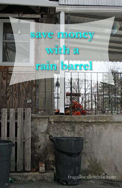 Save Money with a Simple-To-Install Rain Barrel