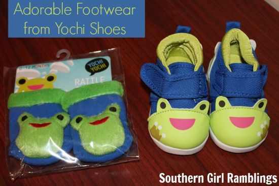 Cute baby shoes from Yochi Shoes #Review #Babies #Moms