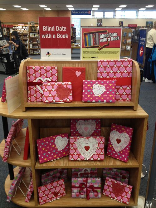 Blind date with a book!