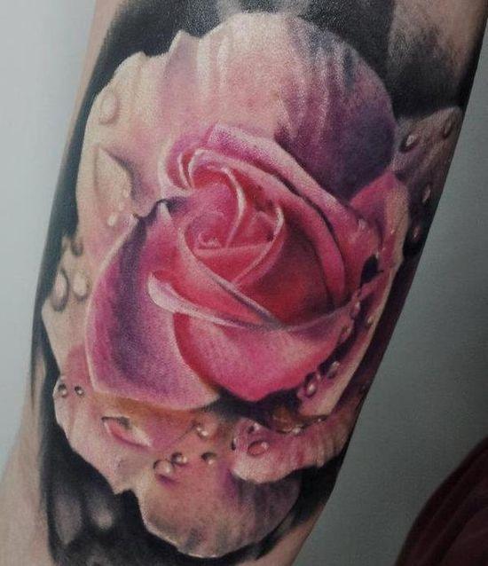 #MattJordan #inked #ink #tattoo #tattoos #rose
