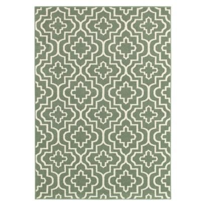 Love this patterned rug