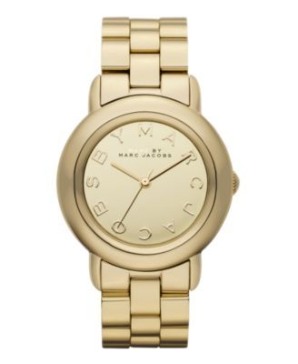 Marci Gold Plated Stainless Steel Bracelet / Marc Jacobs #watch