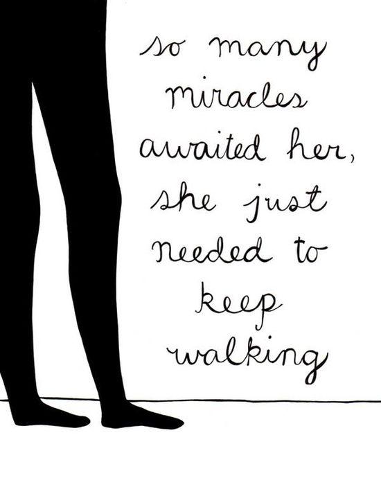 Keep walking... #quotes #followme