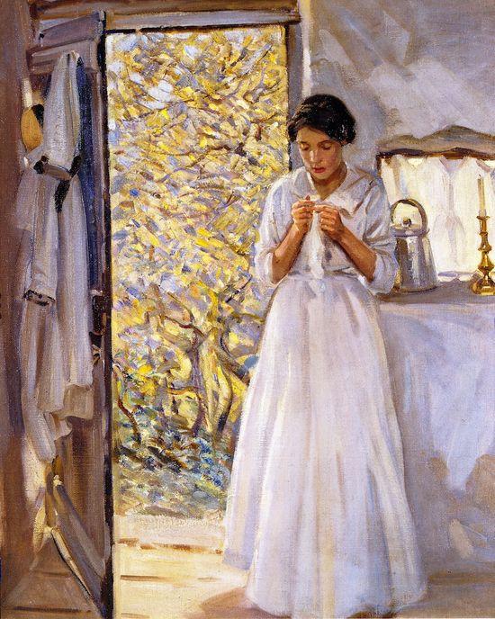 The Open Door (Helen Galloway McNicoll - )