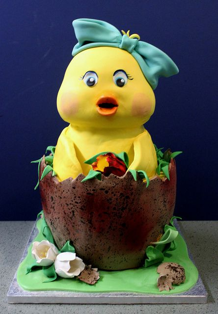Newborn Chick by Alliance Bakery, via Flickr