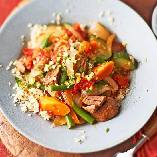 Indulge in these slow cooker recipes guilt-free! You'll find delicious meals, such as chicken and noodles, jambalaya, and beef brisket, that are all under 400 calories per serving.