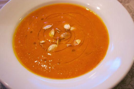 Red Kuri Squash Soup #Healthy Eating #Weekly Menu Plan