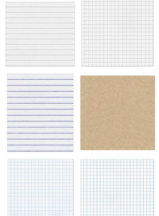 These are free, seamless notebook textures.