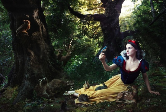 Photography – Annie Leibovitz Disney Dream Portraits | Rachel Weisz as Snow Whit