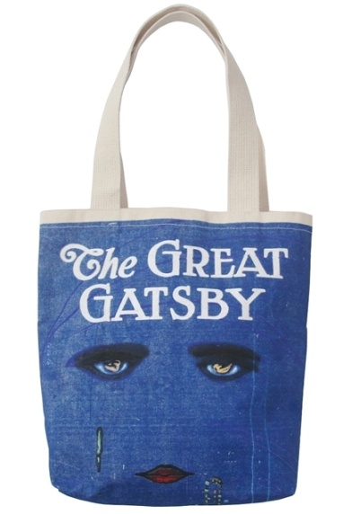 Great Gatsby Tote.. I want this, SO bad. @Anna Galvez
