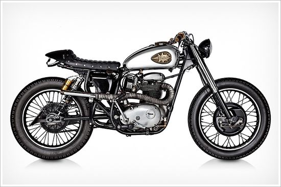 Tattoo Project's 1970 BSALightning - Pipeburn - Purveyors of Classic Motorcycles, Cafe Racers & Custom motorbikes