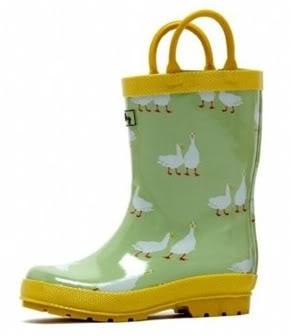 Cute kid rain boots