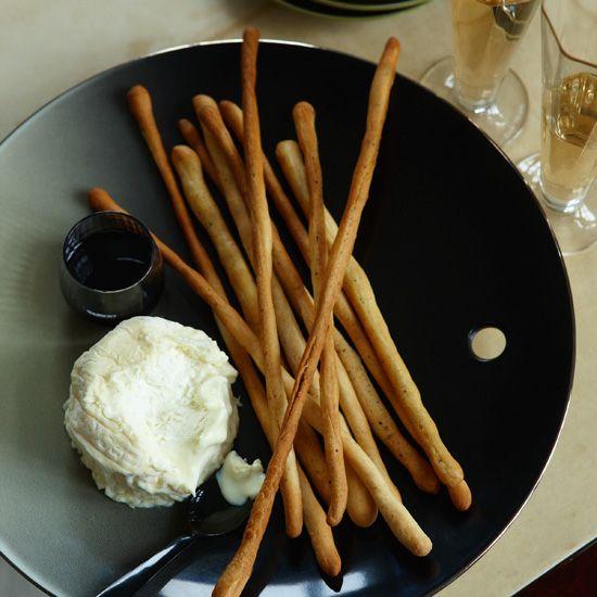 Black-Pepper Breadsticks // More Great Breads: www.foodandwine.c... #foodandwine