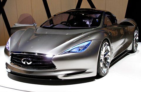 Future Car, Infiniti Emerg E Concept, 2012 Geneva Motor Show