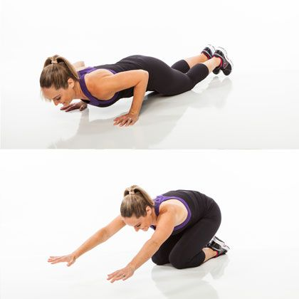 Get your cardio in without running or using a gym machine. Try the jumping pushup! www.shape.com/...