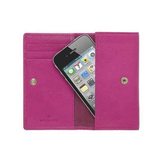 Pink iPhone Case by Mulberry