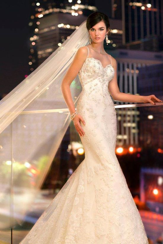 My romantic life style this is my favorite wedding dress for My wedding dress style