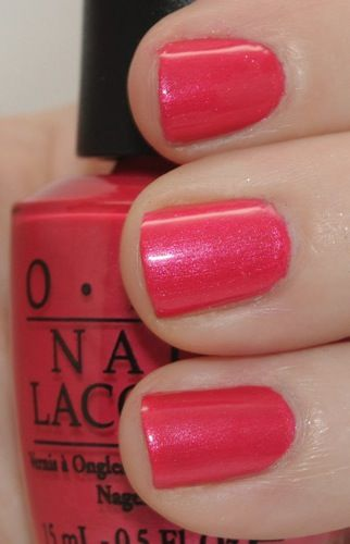 i'm loving Opi's bubble gum pinks, perfect pink for valentine's day wear: Come to Poppy Nail Polish by OPI