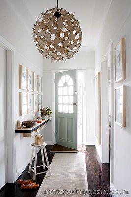 Home Organizing Ideas - Organizing a Narrow Entry - San Diego ...