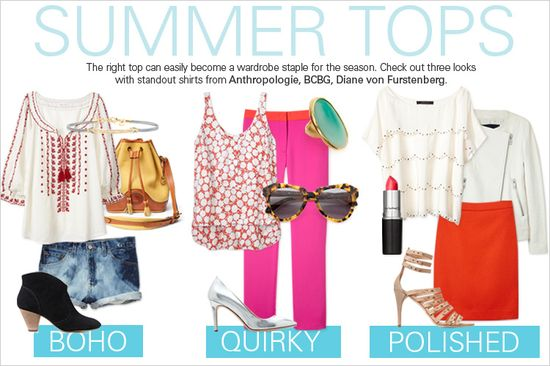 Top fashions for summer 2013!