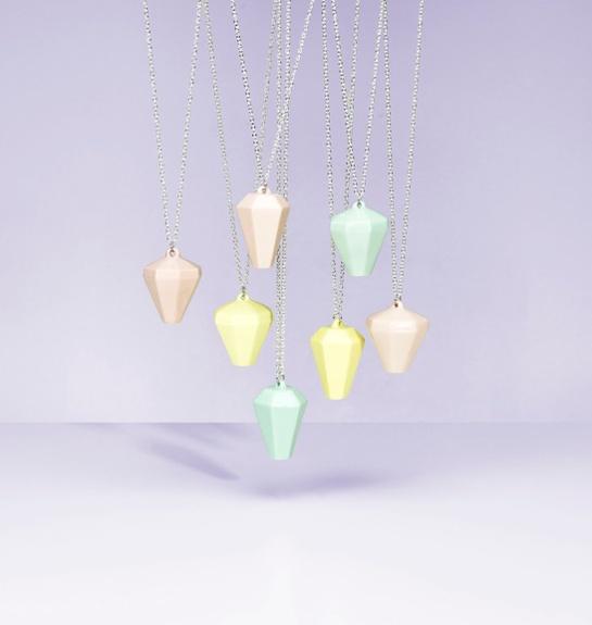 pastel diamonds