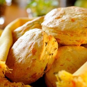 Cheddar-Chive Scones