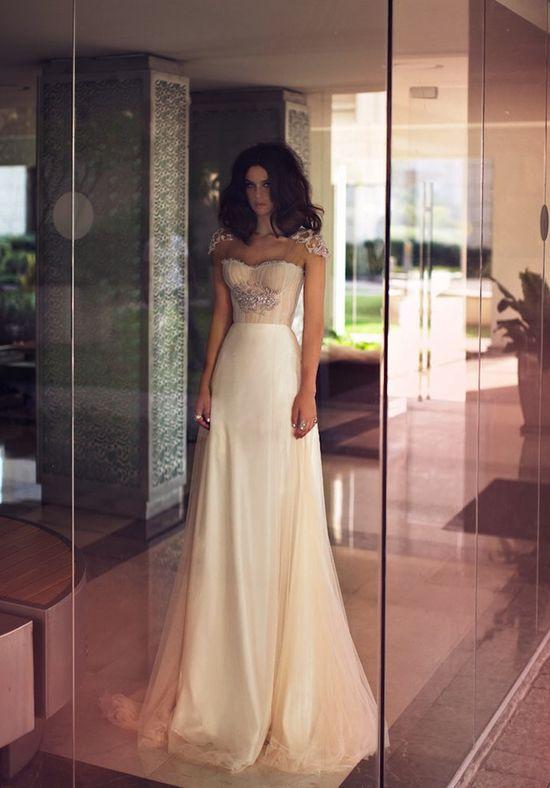 Modern, Glamourous, Sexy Wedding Dresses By Zahavit Tshuba