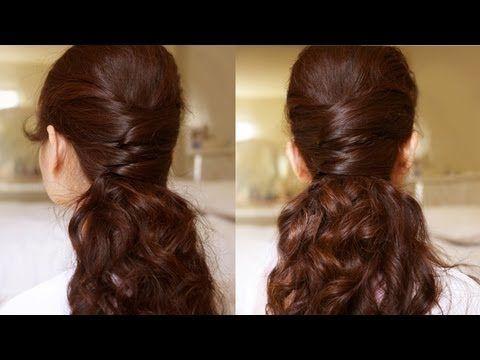 Elegance Half Updo Hair Tutorial